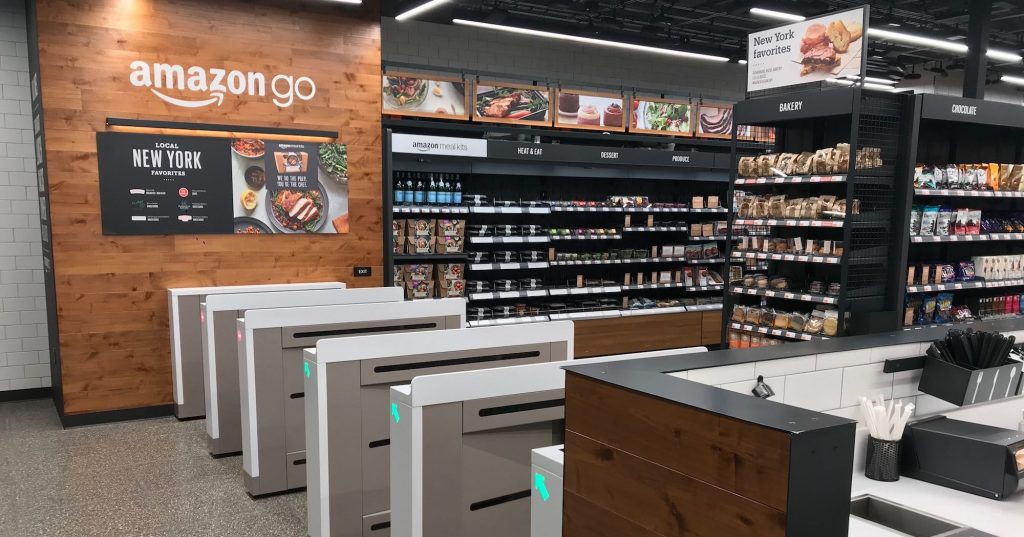 Amazon go Brookfield